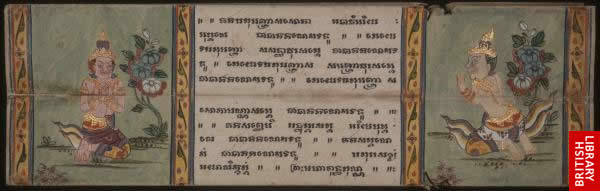 Image from the Thai Buddhist manuscript
