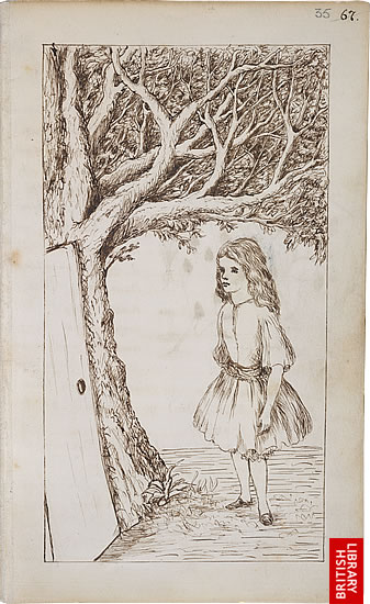 Image of Lewis Carroll's Alice's Adventures Under Ground, page 67