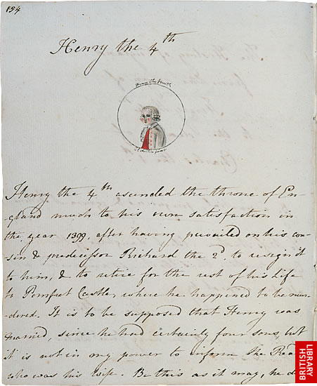 Image of Jane Austen's The History of England, page 3