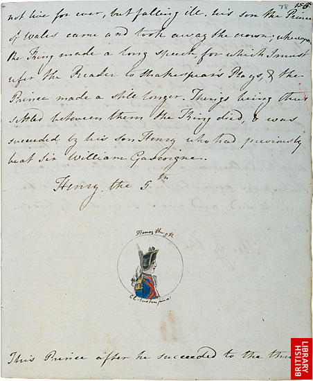 Image of Jane Austen's The History of England, page 4