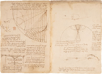 turning the pages accessible version leonardo notebook pages