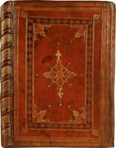 Image of the cover to the Luttrell Psalter