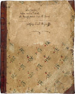 Image of Mozart's Thematic Catalogue's cover