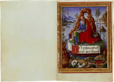 Image of The Sforza Hours - pages 1 and 2