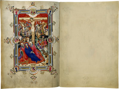 Image of the Sherborne Missal - Pages 23 and 24