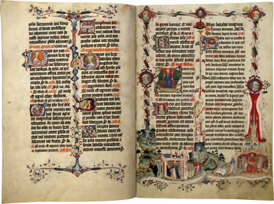 Image of the Sherborne Missal - Pages 29 and 30