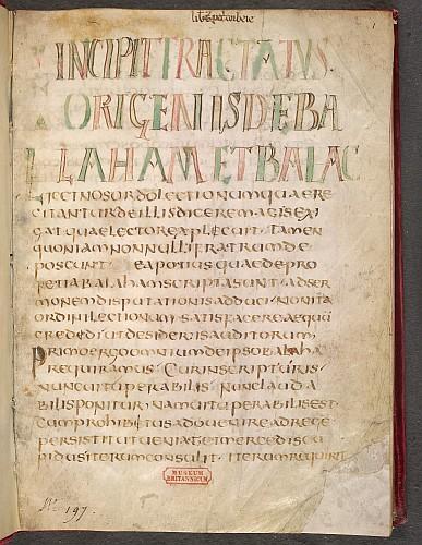 Display script in capitals