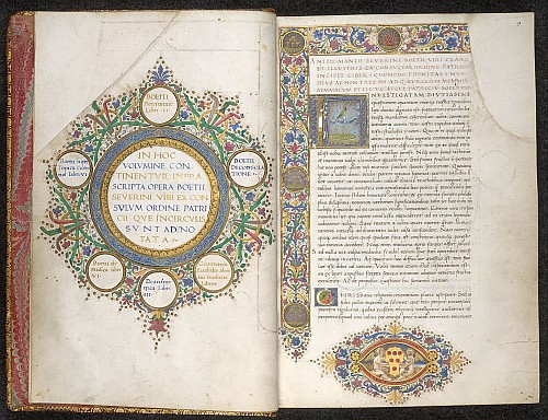Table of contents; initial and border