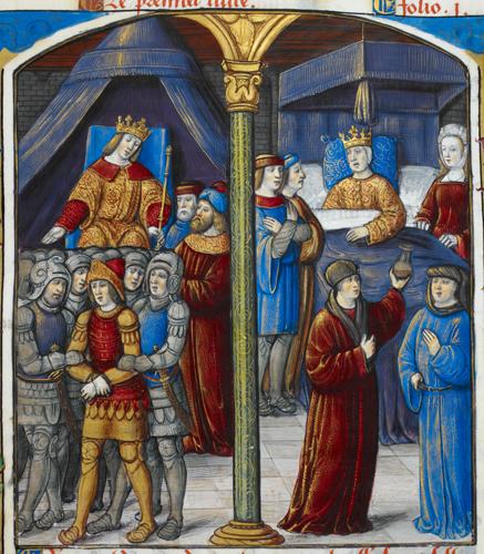 Artaxerxes enthroned