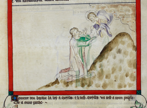 Moses at Mount Sinai