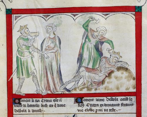 Sisera and Jael
