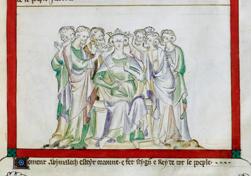 Coronation of Abimelech
