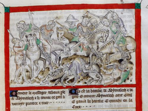 Abimelech killing Gaa