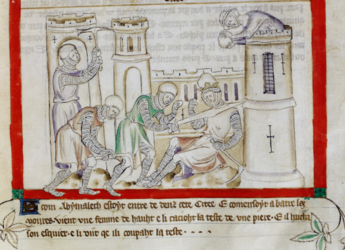 Death of Abimelech
