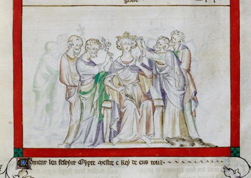 Coronation of Jepthah