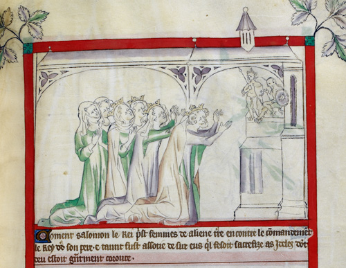 Solomon and his wives