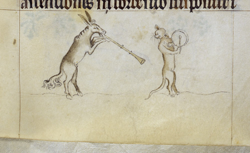 Animals playing instruments