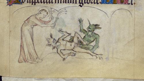 Margaret and devils