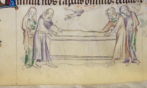 Margaret's entombment