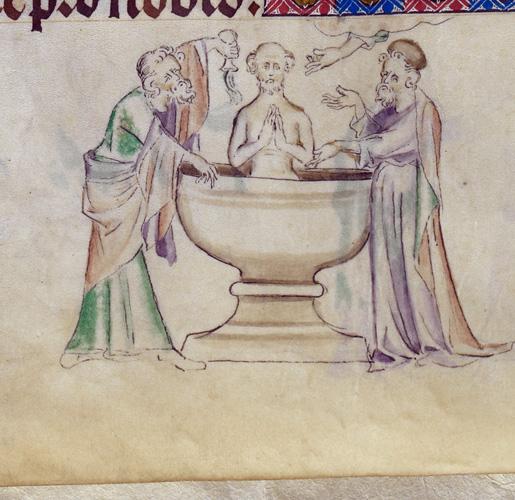 Paul's baptism