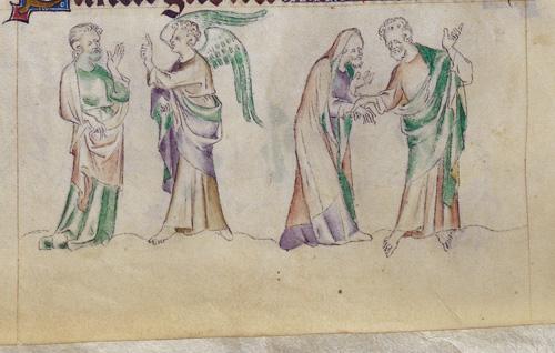 Ananias and angel