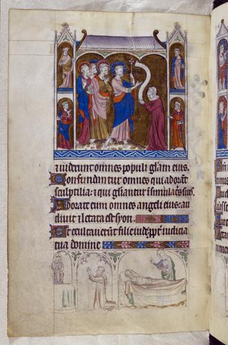 Christ and Marha