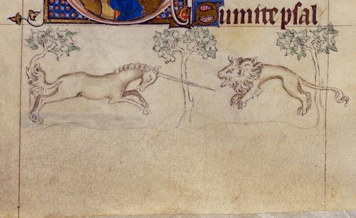 Unicorn and Lion