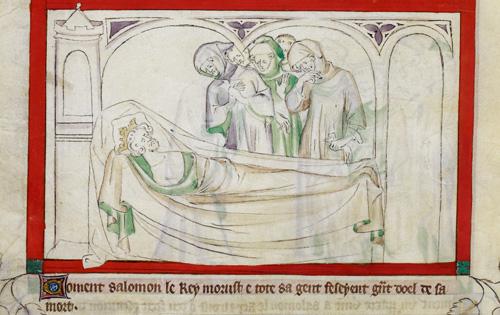 Death of Solomon