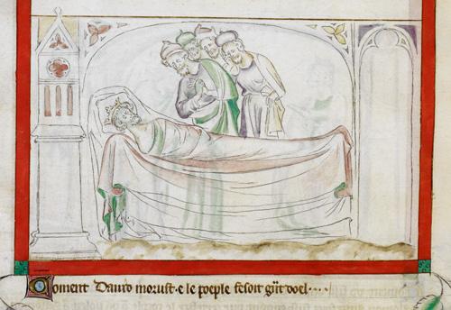 Death of David