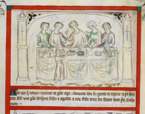 Adonijah's feast