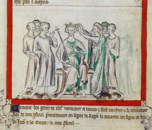Coronation of David
