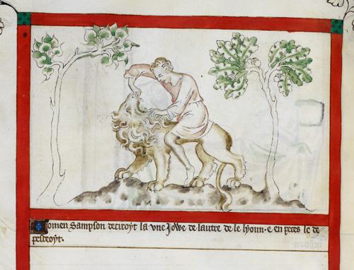 Samson and Lion