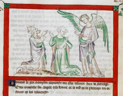 Samson's parents' annunciation