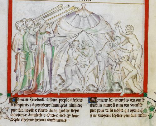 Midianites attack