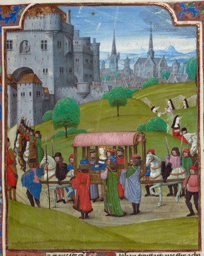 Entry of Isabel of Bavaria into Paris