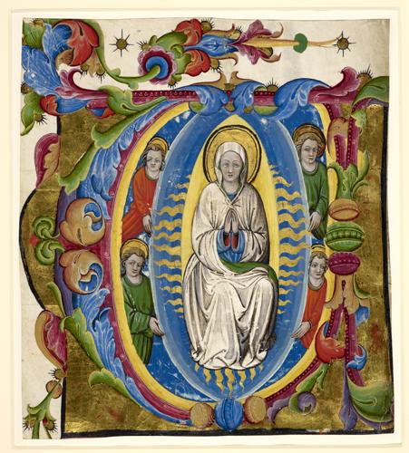 Assumption of the Virgin.