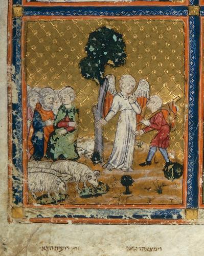 Joseph meeting an angel