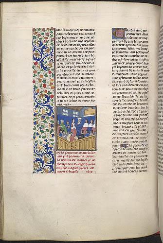 Lawsuit of Jeanne, queen of Naples