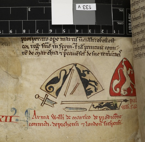 Arms of William de Marisco