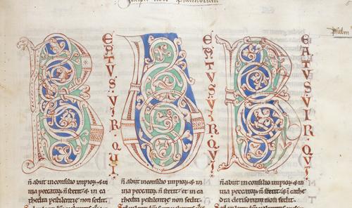 Decorated initials