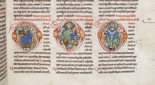 Christ, Virgin, and Bishop