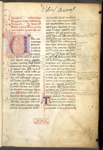 MS Burney 212 f.1