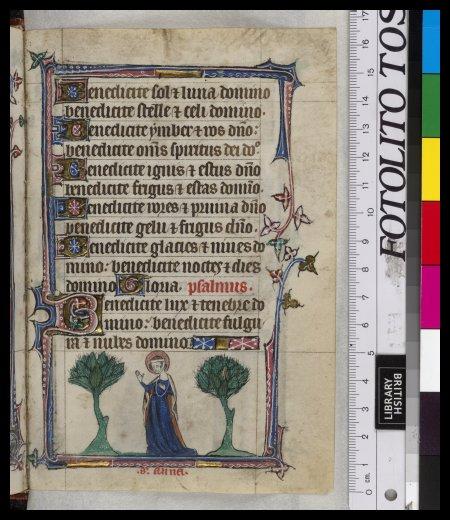 Annunciation to Anne
