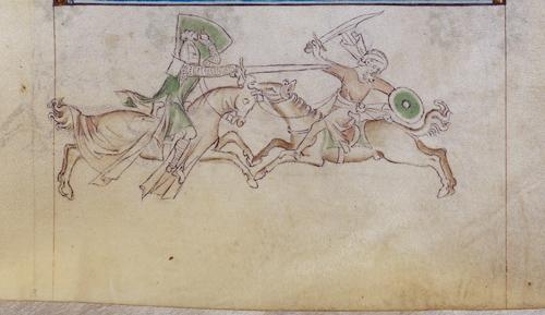 Knight and Saracen