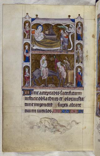 The Nativity and Flight into Egypt