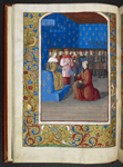 Louis XII receiving the book