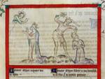 Jepthah sacrificing his daughter