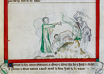 Abner killing Asahel