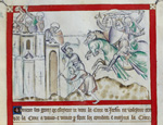 David besieging Jerusalem