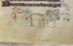 Hunter and antelope